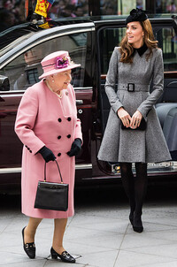 queen and kate first outing march