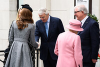 kate queen john major