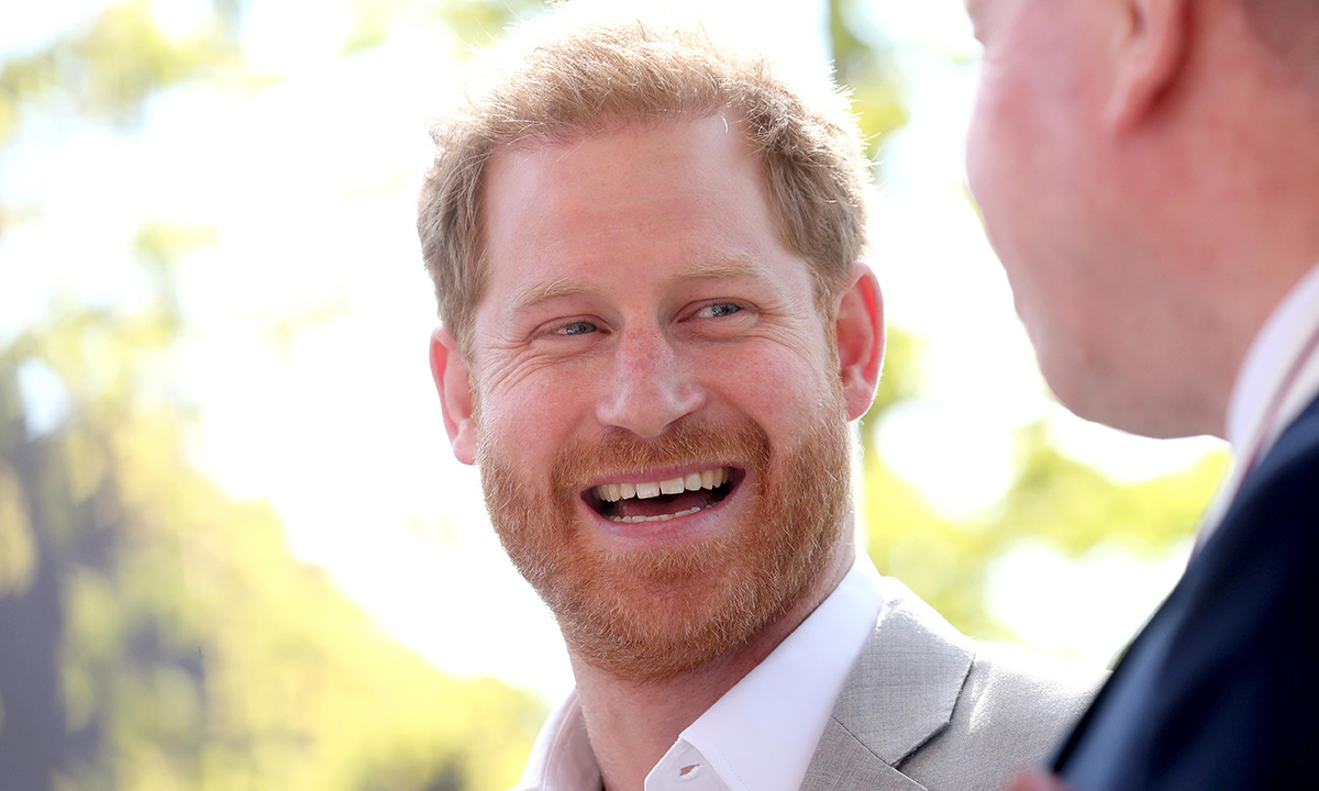 Prince Harry so excited about impending birth of royal ...