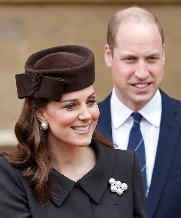 prince william kate protocol