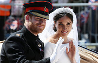 meghan and harry wedding day