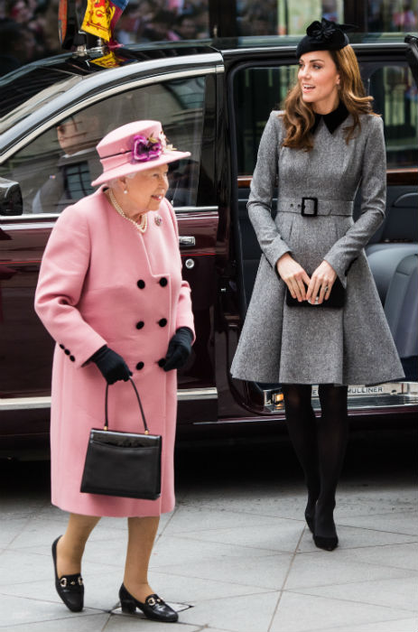 kate-middleton-supported-by-the-queen