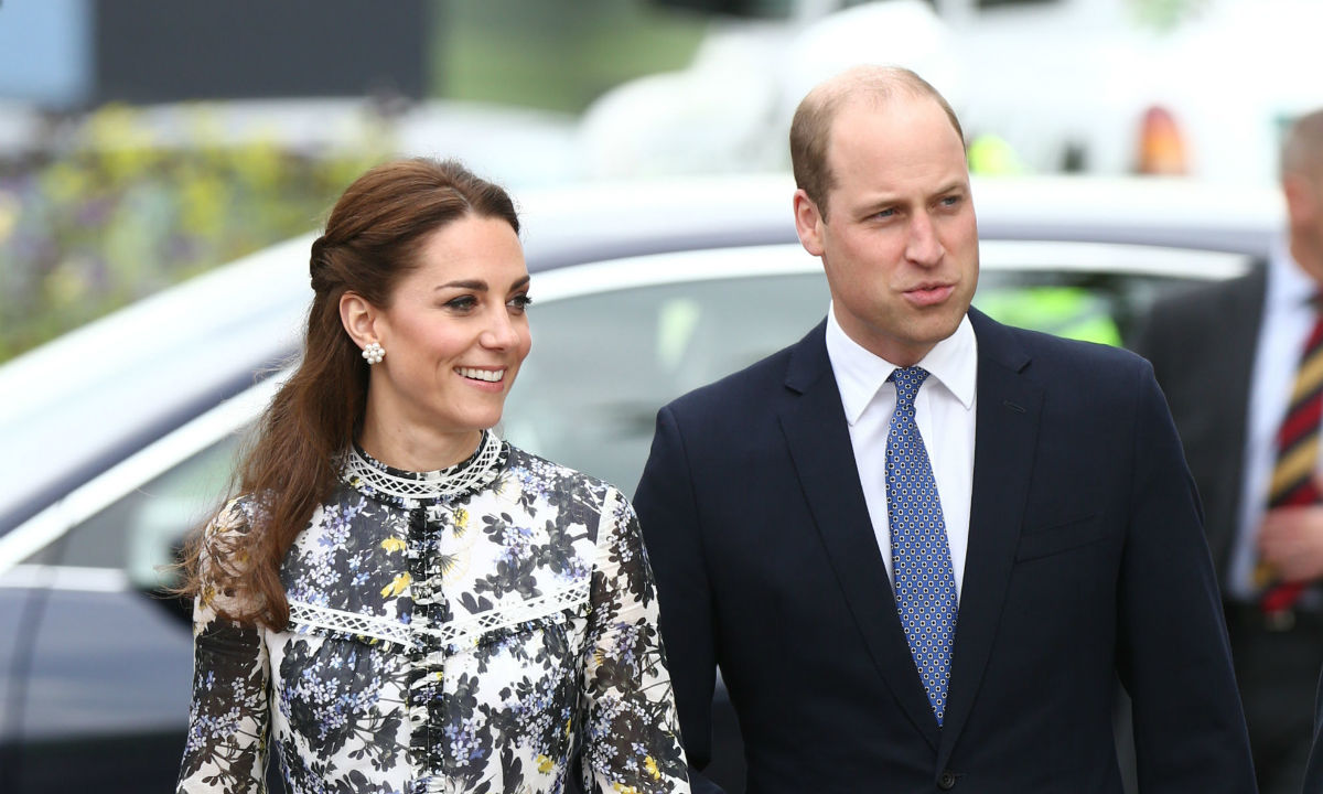 Kate Middleton supported by Prince William, Countess of Wessex and the Queen at Chelsea Flower Show - best pictures