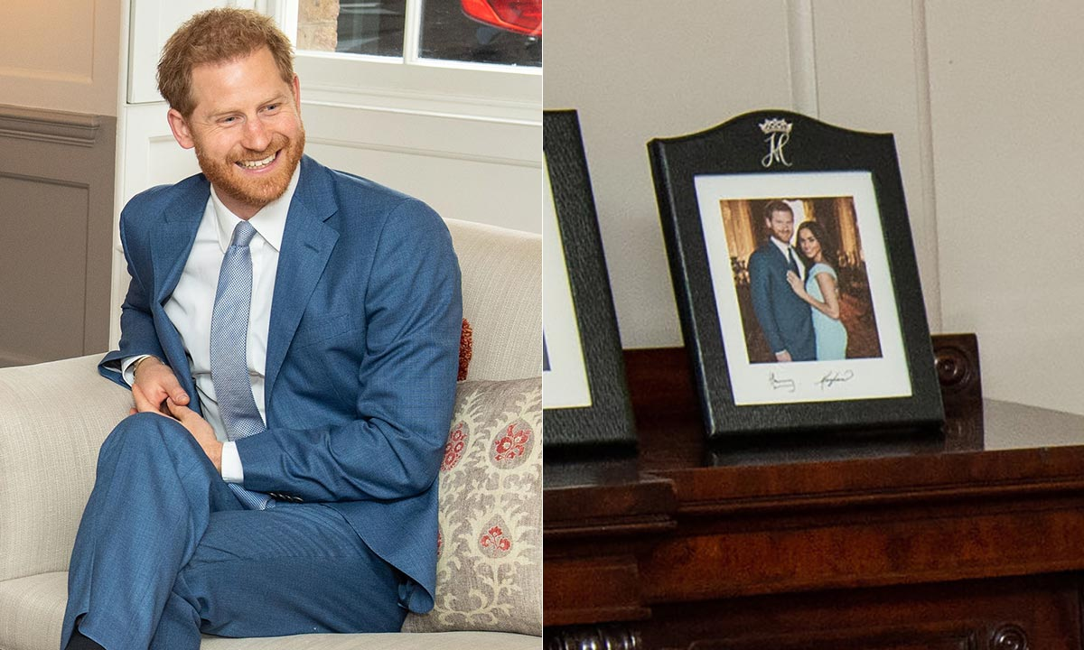 prince harry and meghan spotted in new photo