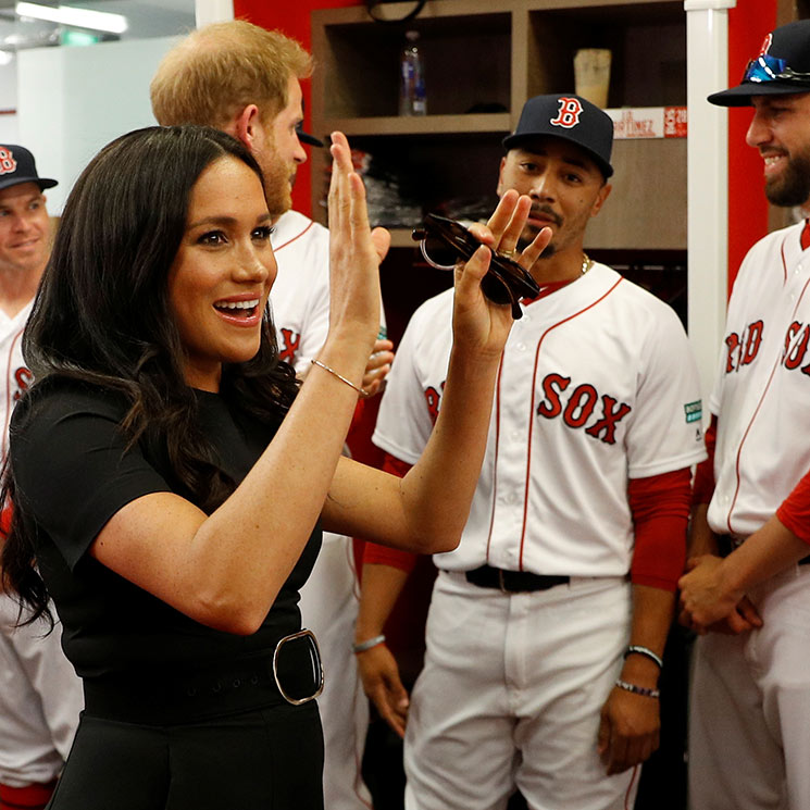 Meghan Markle makes rare post-baby outing to attend baseball game - As it happened