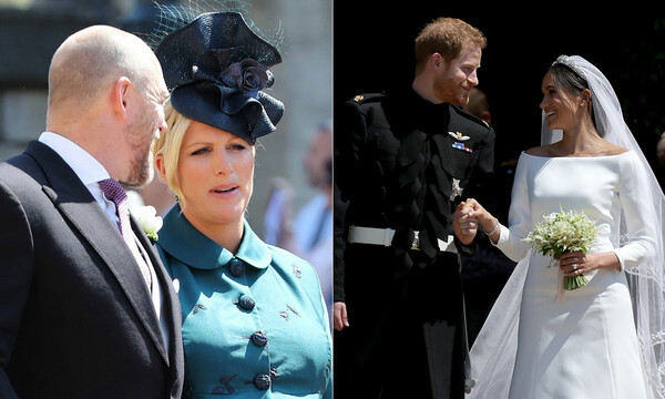 zara tindall harry meghan wedding