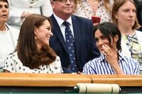 kate-middleton-meghan-markle-laughing-wimbledon