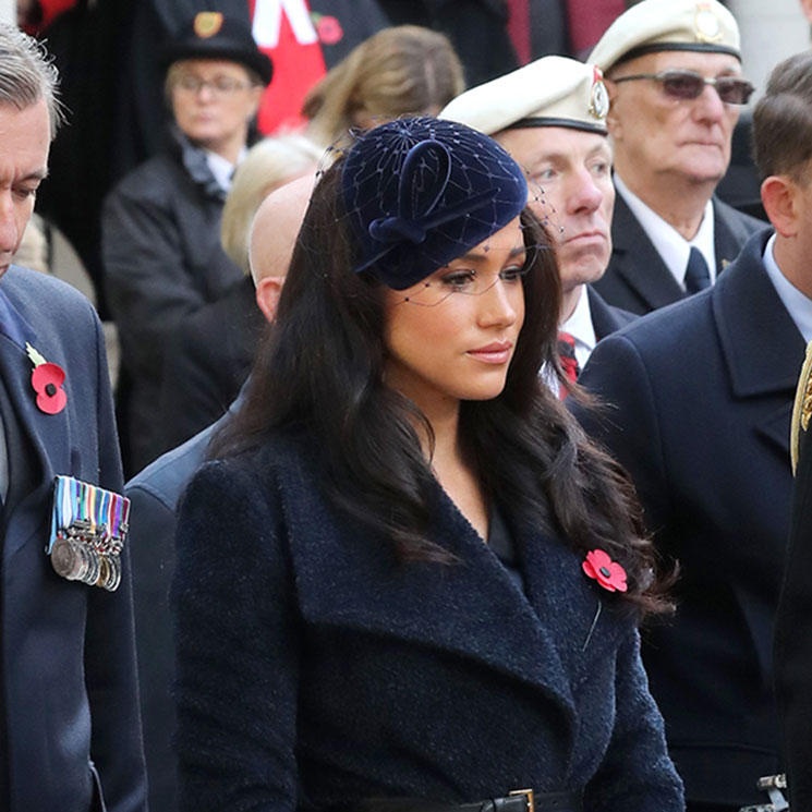 Prince Harry and Meghan Markle visit Field of Remembrance without the Duchess of Cornwall - best photos