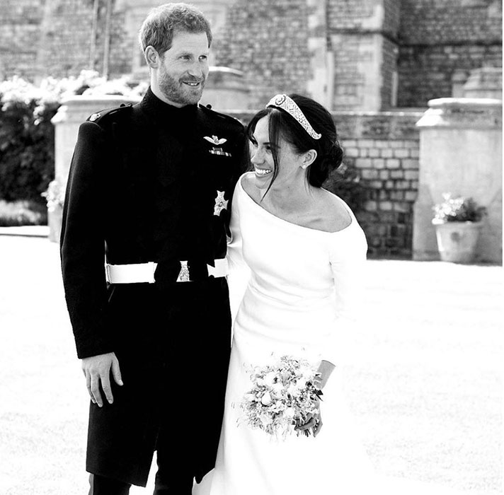 prince harry meghan new wedding photo