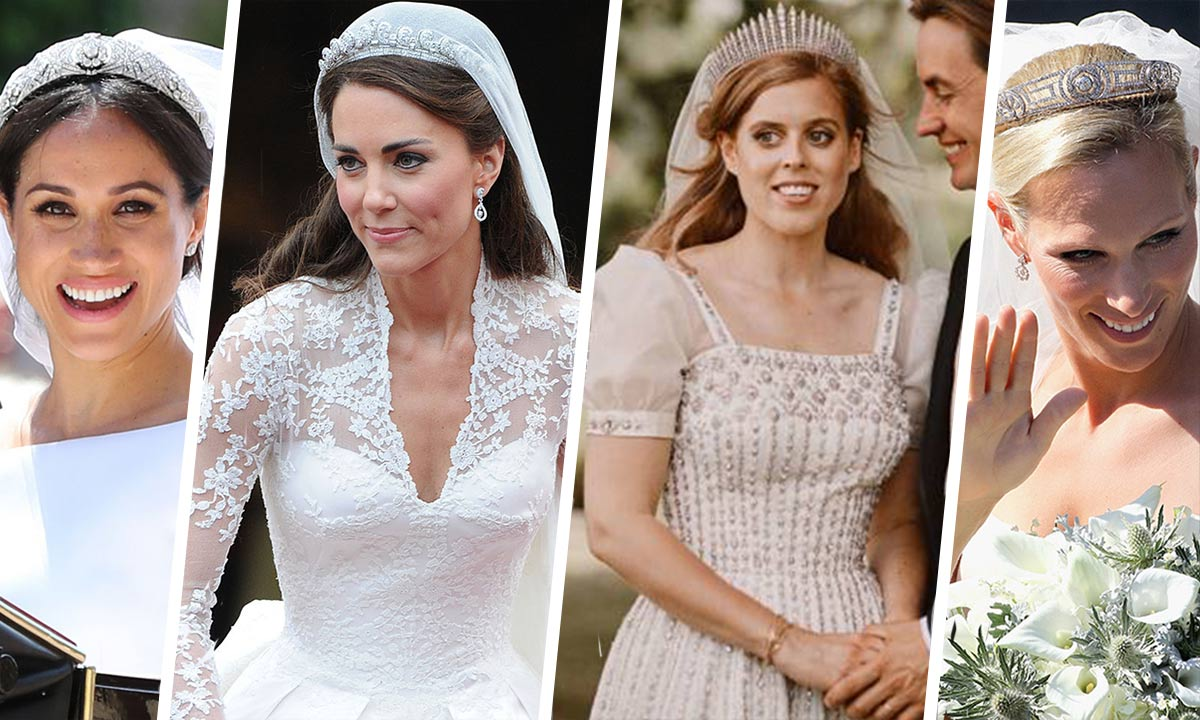 Royal brides and their tiaras: All the most stunning looks