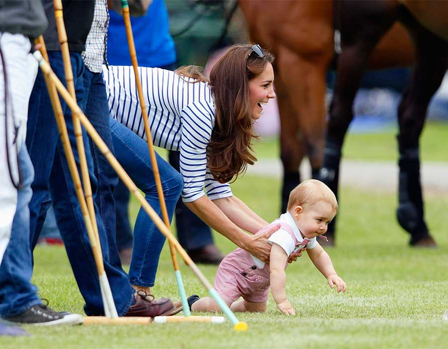8 times Prince George proved he's a mummy's boy