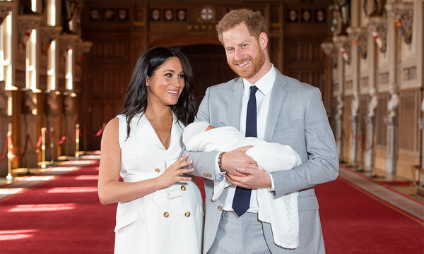 sussexes-archie-name