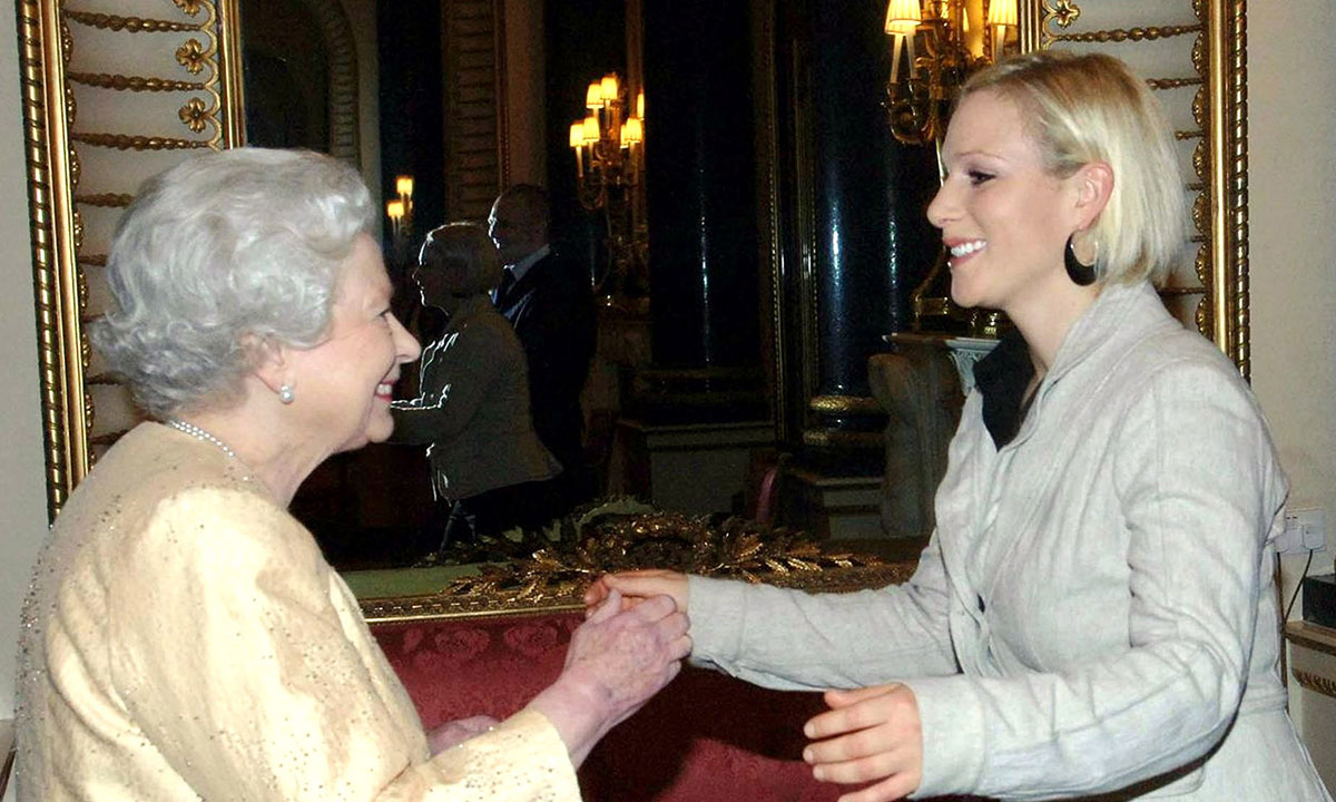 zara-tindall-and-the-queen