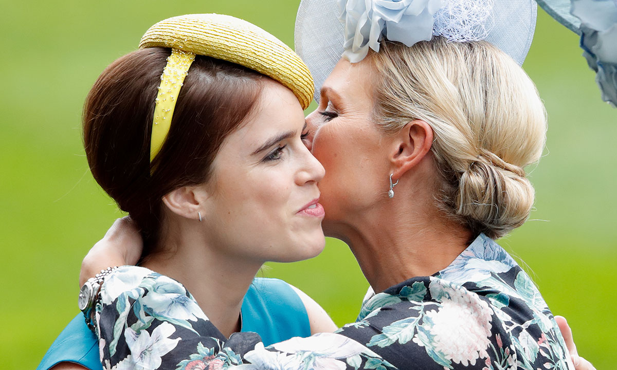 princess-eugenie-and-zara-tindall-hugging