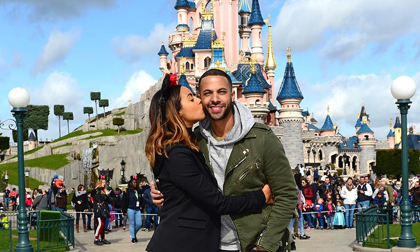 Marvin and Rochelle Humes' magical escape to Disneyland Paris