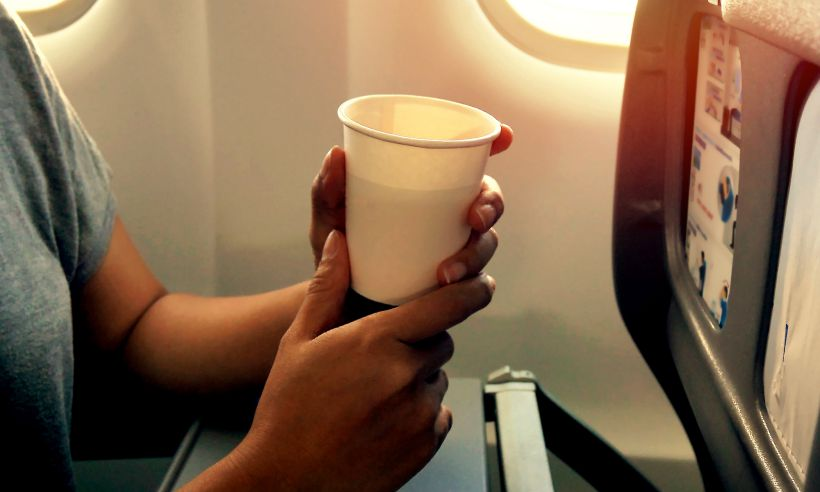 passenger-hot-drink-plane