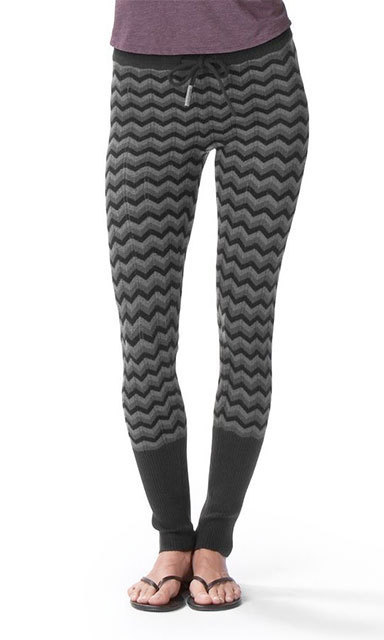 OAKLEY MEWUK YOGA PANTS: For the sport-loving fashion enthusiast, Oakley's sweater-knit Mewuk yoga pants are perfect to wear under your ski gear or for relaxing at the lodge with a cup of hot chocolate. (Oakley.ca $85)