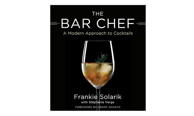 THE BAR CHEF: Mix master Frankie Solarik of Toronto's BarChef invites readers to recreate his imaginative cocktails at home. ($30, Indigo.ca)