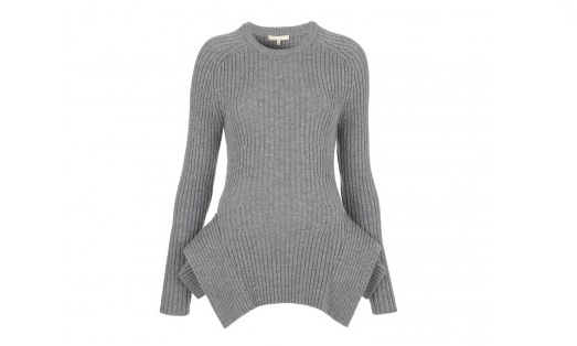 MICHAEL KORS X GOOP BANKER PEPLUM SWEATER: Both preppy and avant-garde (classic ribbed crew neck, meet structured hip-hugging peplum), this luxe merino wool sweater covers a broad range of stylish women who appreciate an investment piece that won't soon go out of style. (goop.com, $950)