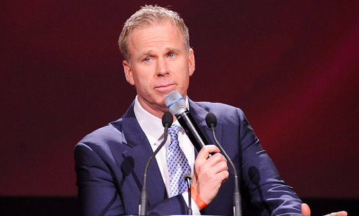 Comedian Gerry Dee hosted the evenings festivities. Photo: © George Pimentel