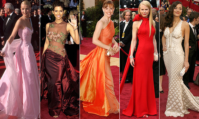 The best Oscar dresses ever