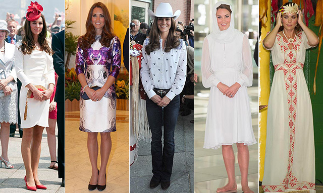 Kate Middleton S 36 Striking Royal Tour Outfits From North
