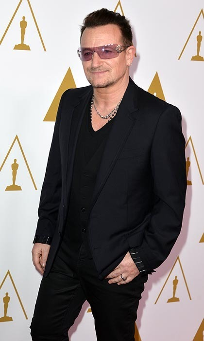 Caring about others is seriously sexy, which is why U2's Bono is made ever the more handsome by his many humanitarian efforts. (Photo by Kevin Winter/Getty Images)