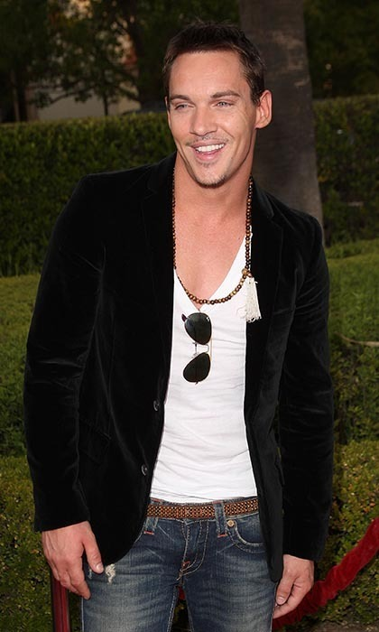 """A lot of my success if because of what I look like. I know that,"" admits <i>Dracula</i> star Jonathan Rhys Meyers, who, besides being ridiculously good-looking, is a fabulous actor to boot. (Photo by Jason Merritt/Getty Images)"