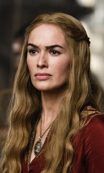 As Queen Regent of the Seven Kingdoms (and the richest woman in Westeros), Cersei Lannister has a seriously killer wardrobe. From her long, golden tresses to her exquisite gowns to the golden lion pendant she always wears around her neck, the scheming royal knows how to dress to impress.
