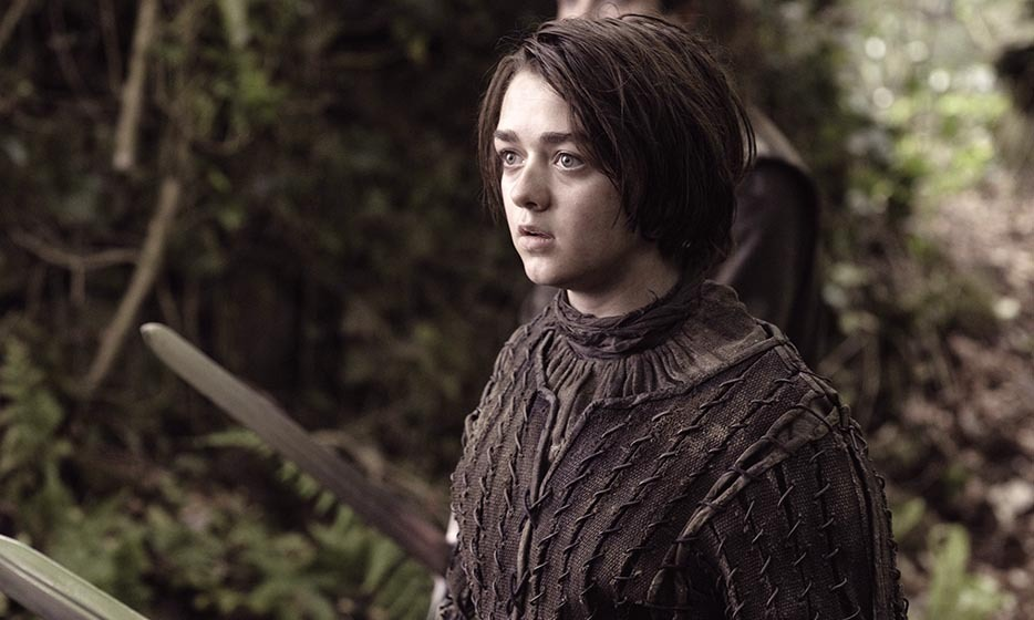 Tomboy Arya Stark, daughter of Ned Stark and Catelyn Stark, is forced to flee the capital following the death of her father in season one. She chops off all her hair and takes on the identity of 'Arry,' an orphan boy, in an effort to stay hidden.
