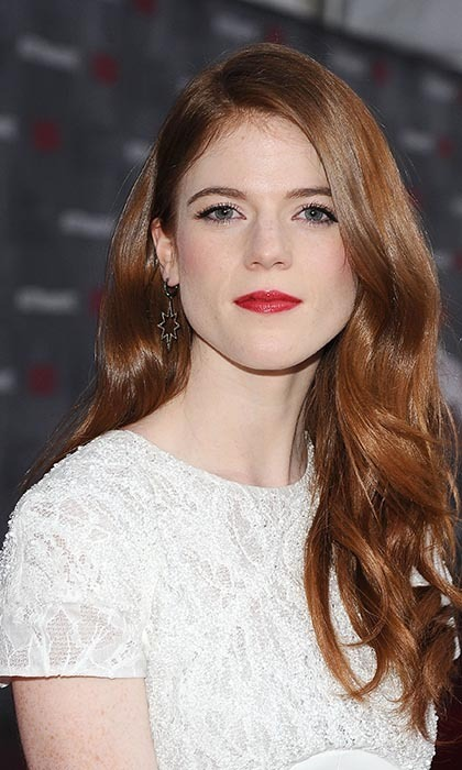 "Rose Leslie is one of the few actresses on the series who doesn't dye her hair or wear a wig. The natural redhead, who first came to prominence with her role in 'Downtown Abbey,' had no qualms about switching from the former show's corsets (they were ""hugely uncomfortable,"" she revealed) to Ygritte's pelts and furs. ""I was hugely comfortable in my Ygritte costume,"" she told 'TV Guide.' ""I was so nice and warm, and it was furry with many layers on the inside. There was no way I was going to freeze in that costume."""