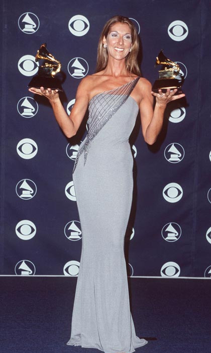 "At the 1999 Grammy Awards, the singer took home two gramophones for ""My Heart Will Go On"": Best Pop Vocal Performance and Song of the Year (Photo: © Getty)"