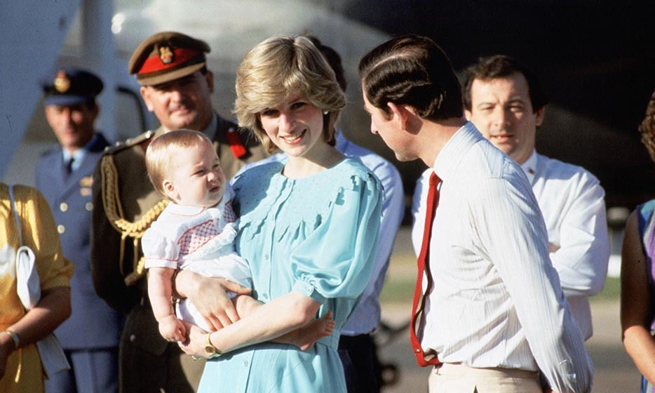 "Prince Charles and Diana, Princess of Wales arrived in Australia with their son, Prince William, in March of 1983. The couple kicked off their royal tour in the sleepy town of Alice Springs, where the royals slept in a motel and Charles charmed onlookers by shooing William's ""first Australian fly"" from his face."