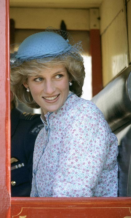 Princess Diana wore a liberty print dress from Miss Antoinette for a ride in one of Ballarat, Australia's stagecoaches, a ride fitting of one of Australia's greatest Victorian boomtowns.