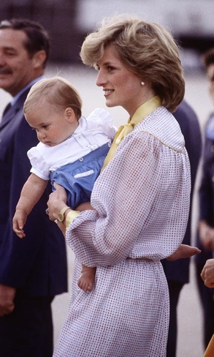 Prince William came back out to play in Melbourne on Apr. 16, 1983 as the British royal family arrived for their final day in Australia.
