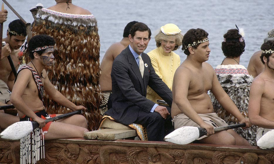 On Apr. 29, 1983, husband and wife found themselves in a Maori canoe.