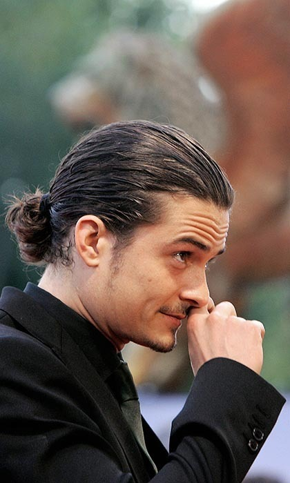 Top 10 Our Favourite Men With Ponytails Hello Canada