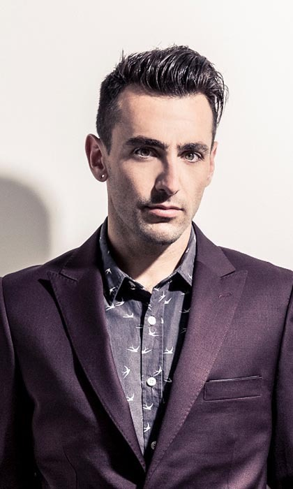 "JACOB HOGGARD, 29: The Hedley lead singer from Alberton, B.C. says turning 30 this summer means ""nobody can stop me from ruining my dinner with cookies."" Photo: © Universal"