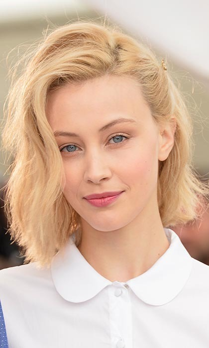 SARAH GADON, 27: The Toronto-born star of 'Belle' and the upcoming David Cronenberg flick 'Maps to the Stars' is currently learning how to box. Photo: © Getty Images