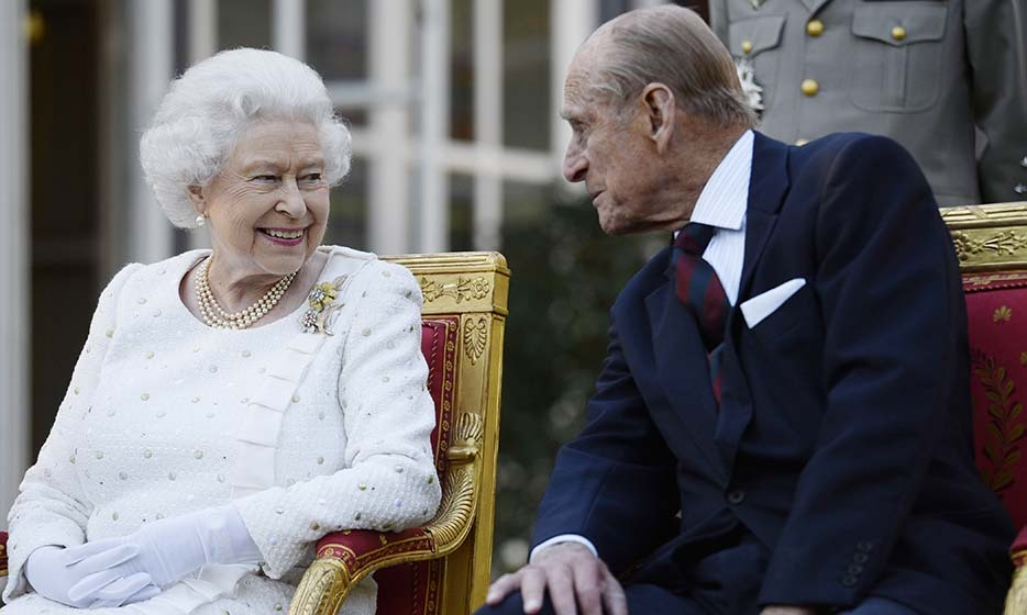 <h2>10. He's been at the Queen's side for more than 70 years</h2>
