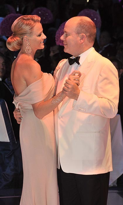 The stylish duo were seen dancing in Monte Carlo at the Red Cross Ball on July 30, 2010.