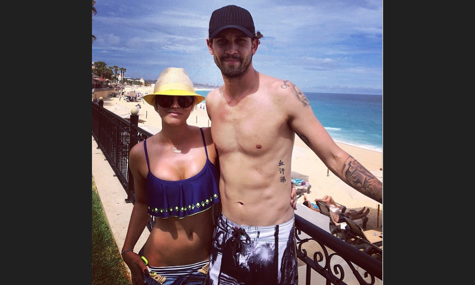 "Kaley Cuoco and Ryan Sweeting: ""Vaca!!! #cabocabocabo"" Photo: © Instagram"