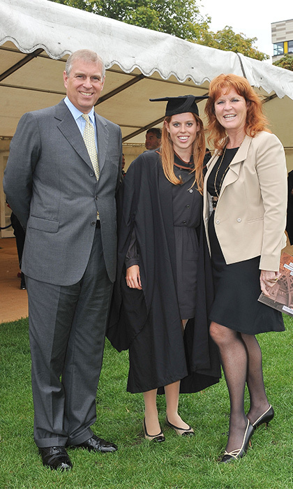 This was a proud moment for Beatrice, who graduated from Goldsmiths College on Sept. 9, 2011, clad in her cap and gown.