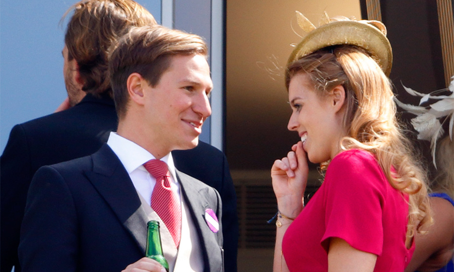 The look of love: Beatrice was radiant as ever at the Royal Ascot in 2015 as she watched the races with her then-longtime beau, David Clark. The couple announced their split just days before Beatrice's 28th birthday.