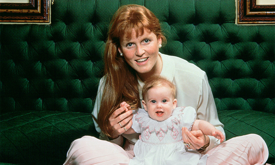 At just a few months old, Beatrice was already the spitting image of her stylish mom, Sarah Ferguson. 