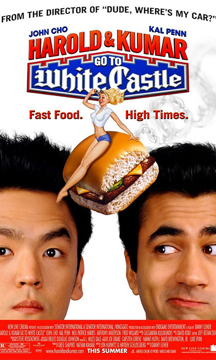 HAROLD AND KUMAR GO TO WHITE CASTLE (2004): There are no White Castle eateries to speak of in Canada, but that didn't stop the <em>Harold and Kumar</em> crew from filming this classic stoner comedy in and around Toronto and Mississauga.