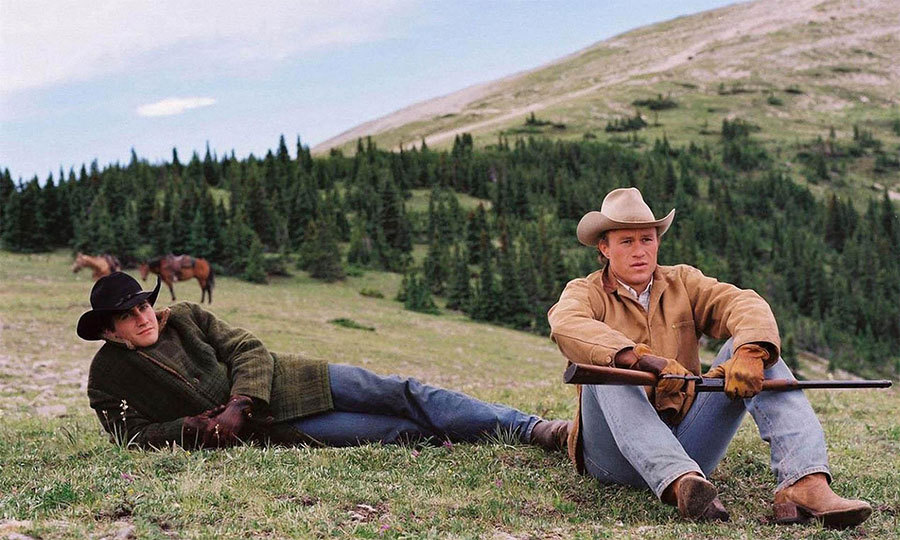 BROKEBACK MOUNTAIN (2005): The Canadian Rockies in Alberta, Calgary made an idyllic backdrop for the romantic tale of two cowboys who fall in love during one summer in Wyoming.