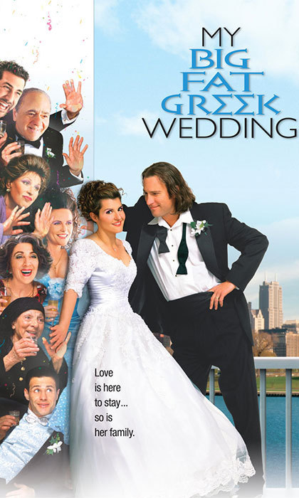 MY BIG FAT GREEK WEDDING (2002): Toronto's Greektown on the Danforth masquerades as Chicago in this feel-good romcom starring Nia Vardalos.
