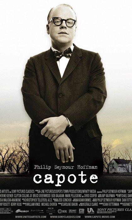 CAPOTE (2005): While <em>Capote</em> was set in Kansas, the film was shot in Winnipeg and Selkirk, Manitoba due to their similar, prairie-like landscapes. Philip Seymour Hoffman would go on to win the 2005 Oscar for Best Actor for the role.