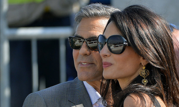 George Clooney and Amal Alamuddin chose Venice because they met in Italy and he owns a home down the road at Lake Como.